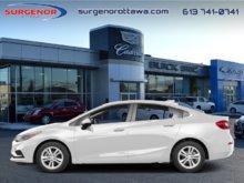 Chevrolet Cruze LT  - Certified - Heated Seats - $104.95 B/W 2016