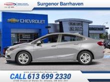 2018 Chevrolet Cruze LT  - Bluetooth -  Heated Seats - $182.53 B/W