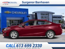Chevrolet Cruze LT  - $155.20 B/W 2018