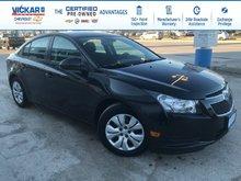 2014 Chevrolet Cruze 1LT  - Bluetooth -  OnStar - $124.61 B/W
