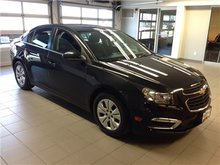 2015 Chevrolet Cruze LT 1LT/1 OWNER LOCAL TRADE/LOW LOW KMS!!