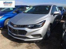 2017 Chevrolet Cruze LT  - Bluetooth -  SiriusXM - $162.09 B/W