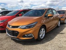 2017 Chevrolet Cruze LT  - Bluetooth -  SiriusXM - $163.30 B/W