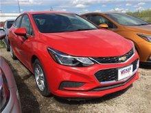 2017 Chevrolet Cruze LT  - Bluetooth -  SiriusXM - $155.93 B/W