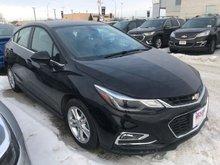 2018 Chevrolet Cruze LT  - Bluetooth -  Heated Seats - $167.25 B/W