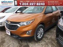 2018 Chevrolet Equinox LS  - Bluetooth -  Heated Seats - $174.79 B/W