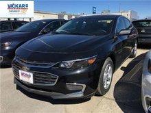 2017 Chevrolet Malibu LS  - Bluetooth -  OnStar - $175.42 B/W