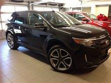 2014 Ford Edge SPORT/NAVI/22' WHEELS/BLACK ON BLACK!!!