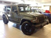 2015 Jeep Wrangler Unlimited SAHARA/CUSTOM WHEELS/NAVI!!