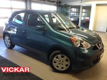 2016 Nissan Micra SV/AUTO/1 OWNER LOCAL TRADE/LOW LOW KMS!!