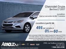 La Chevrolet Cruze 2017 en location