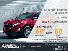 Chevrolet Equinox 2018!