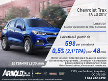 La Chevrolet Trax 2017