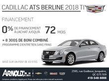 Réalisez votre rêve ! Cadillac ATS berline 2018