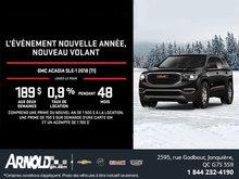 GMC Acadia 2018!