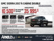 Le GMC Sierra 1500 2017 à cabine double Elevation!