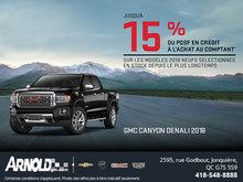 Canyon 2018! Le camion intermédiaire qui dépasse vos attentes !