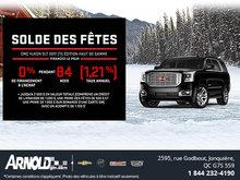Obtenez le GMC Yukon 2017!