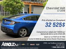 La Chevrolet Volt 2018