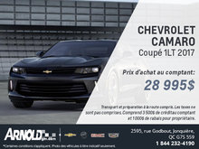 Chevrolet Camaro Coupé LT 2017!