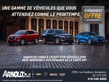 Offre du Printemps Chevrolet