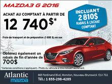 Nouvelle Mazda3 G 2016!