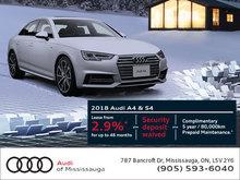 2018 Audi A4/S4 Promotion