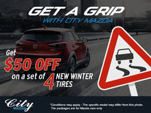 Get a Grip with City Mazda!