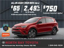 Save Big on the 2018 Toyota RAV4