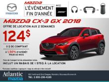 La Mazda CX-3 2018 en rabais!
