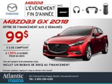 La Mazda3 2018 en rabais!