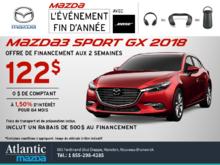 Mazda3 Sport 2018 en rabais!