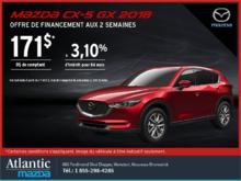 Procurez-vous le Mazda CX-5 2018 aujourd'hui!