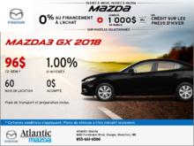 Nouvelle Mazda3 GX 2018