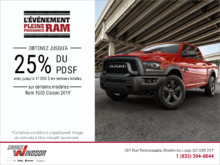 Événement mensuel RAM