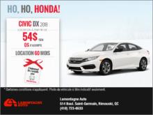 Louez la Honda Civic 2018
