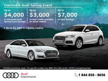 The Audi Monthly Sales Event.