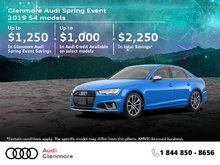 Get the 2019 Audi S4 today!