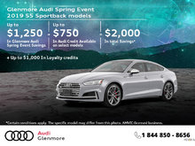 Get the 2019 Audi S5 Sportback today!