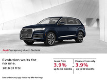 Get the 2018 Audi Q7 Today