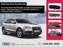 Save Big on Genuine Audi Accessories