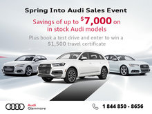 Spring Into Audi Sales Event