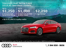 Get the 2019 Audi A5 Sportback Today!