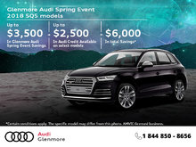 Get the 2018 Audi SQ5 today!