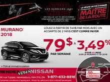 Nissan Murano 2018 en rabais