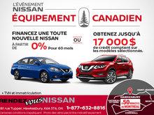 Événement Nissan Équipement Canadien!