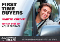 Nissan - Take advantage of our First-Time Buyers Program today!