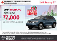 Nissan - Save on the all-new 2014 Nissan Murano today