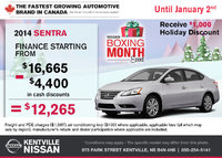 Nissan - Get the 2014 Nissan Sentra today