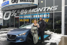 Jessica's first Mazda ,